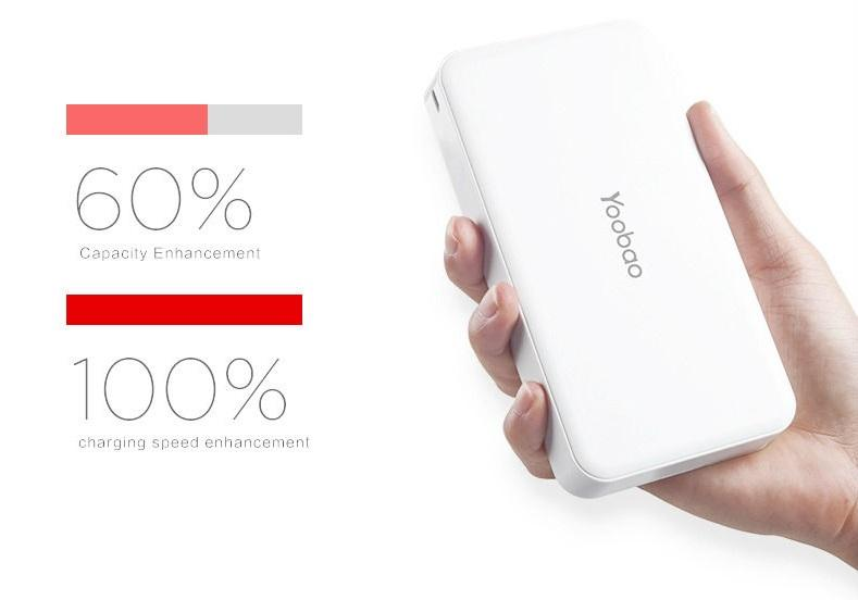 Yoobao Power Bank S8 Plus 20000mAh YB-S8 Plus 20000mAh White