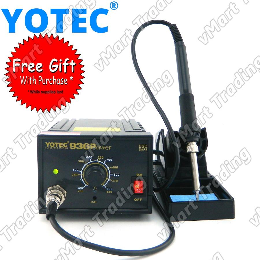 YOTEC 936 Temperature Regulated Soldering Station + FREE GIFTS