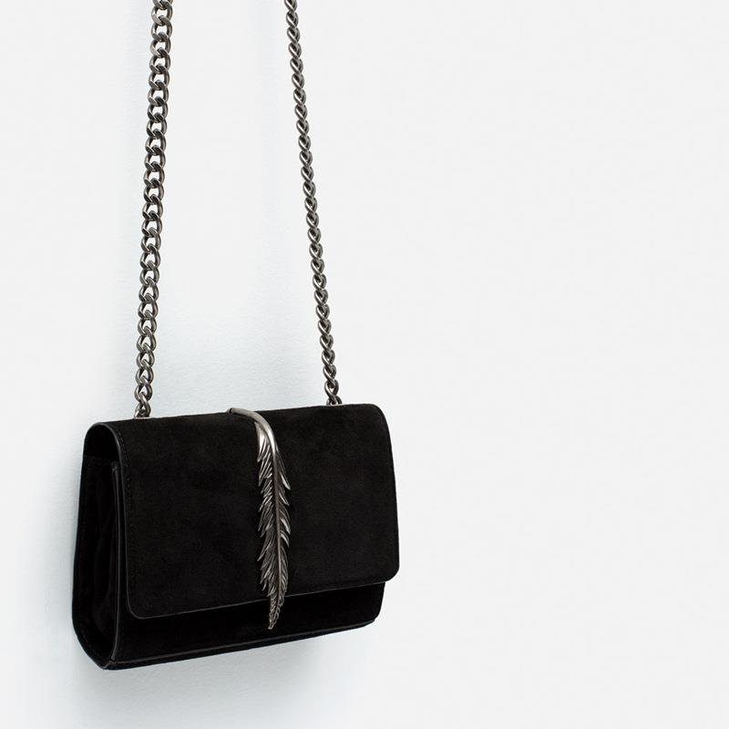 Zara Feather Women Sling Bag Dinner (end 6/23/2018 4:13 PM)