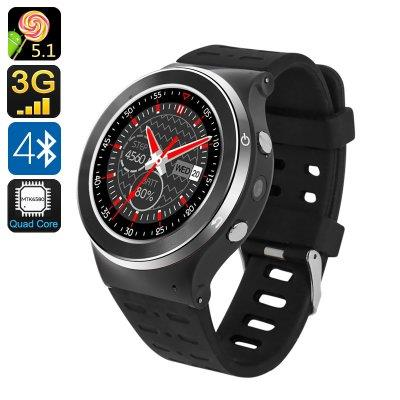 ZGPAX S99 Android 5.1 Smart Watch - 1.33 Inch, Bluetooth 4.0, Quad