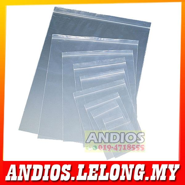 Zip Lock Bag-100pcs Resealable Plastic Beg Double Packing Packaging