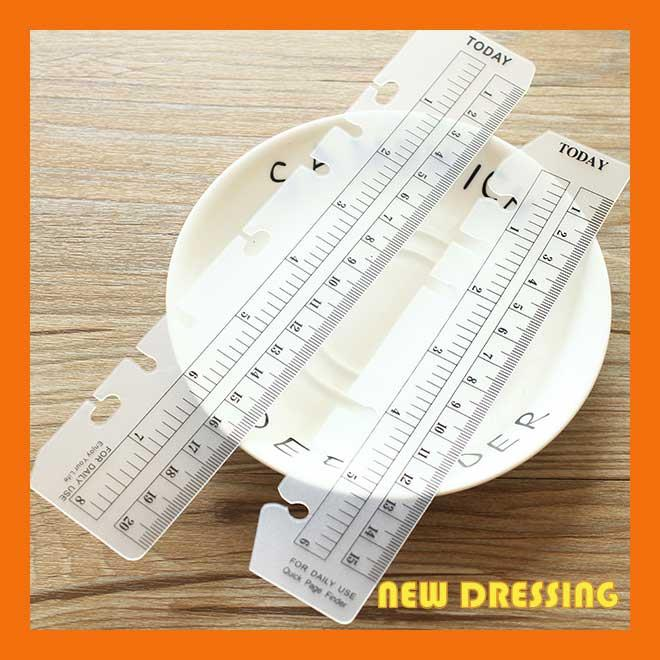 ZK142 - A6/A5 Loose Leaf Matte Ruler
