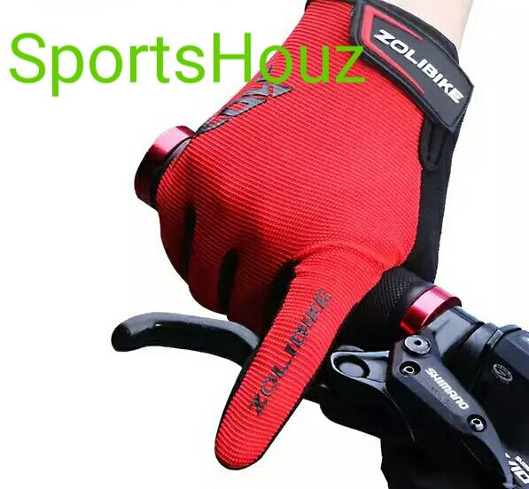 ZoliBike Full Finger Hand Glove With SBR Pad