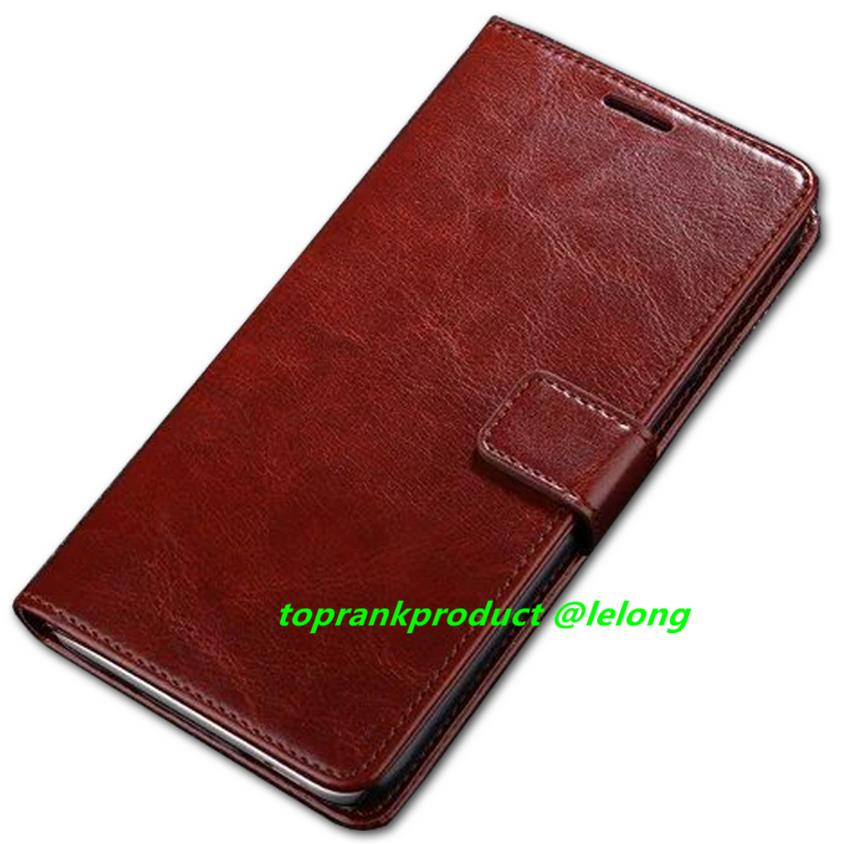 ZTE Blade A711 Flip Card Slot PU Leather Stand Case Cover Casing
