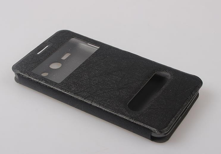 ZTE GRAND SII / S2 / S291 WINDOWS FLIP PU HANDPHONE CASE