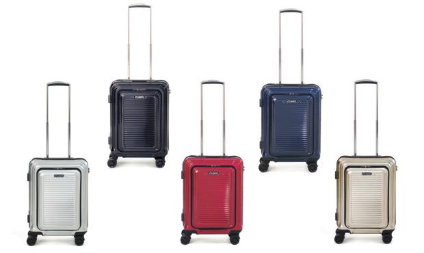 FLIEGER 20-inch Premium Design Carry-On Luggage with Front Pocket)