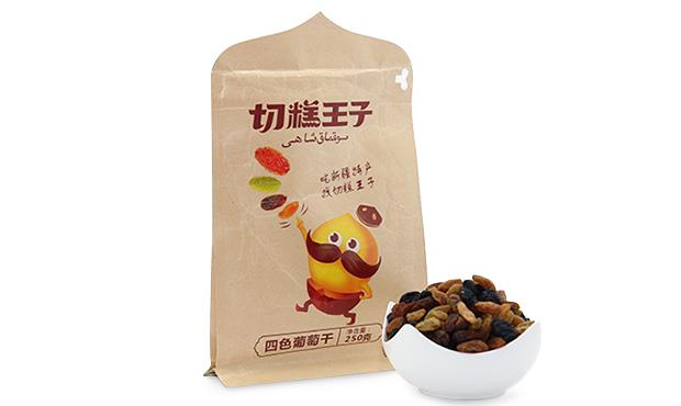 Xinjiang Four Flavors Raisins in One Packet)