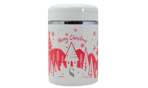 [Limited Edition] Winter Wonderland: SWANZ 460ml Porcelain Food Warmer)