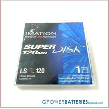 1 New Imation 120MB Super Disk