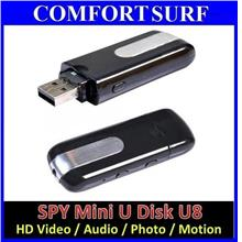 Pendrive U8 HD Spy Hidden Camera Video Audio Photo Webcam DVR Motion