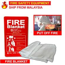 Fire Safety Security Blanket PVC Box Pack Equipment (1.2m x 1.2m)