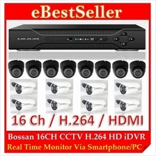 16 Channel CCTV H.264 Full D1 HDMI Network HD DVR Digital Video Record