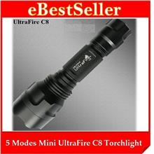 Ultrafire Torchlight Flashlight +FREE Rechargeable Battery & Charger