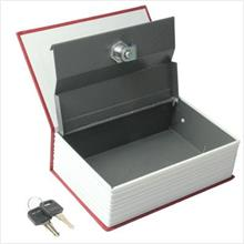 Dictionary Design Safe Cash Box with Cylinder Lock