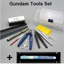 Gundam Figurine Model Complete Tools Set
