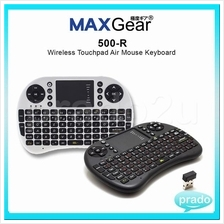 MAXGear Wireless 500-R Air Mouse Keyboard Remote Android TV Box Player