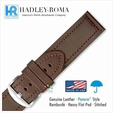 HADLEY ROMA Panerai Style Leather Water Resistant Watch Strap BR 22-24