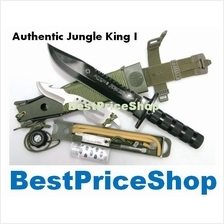 Authentic Jungle King 1 - Multifunction Camping Hunting Survival Knife