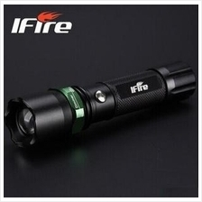 iFire Super Bright Rechargeable Torch Light +Free Gift + 1 yr warranty