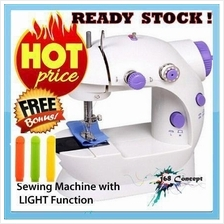 ORI (FREE Food Clip) Portable Sewing Machine with Light > M'sia Plug