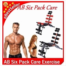 Gym AB Six Pack Care Exercise bike fitness bench chair equipment gym