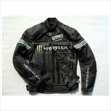 Monster Motorcyclist Cyclist Motor Sports Racer Uniform Suit Jacket