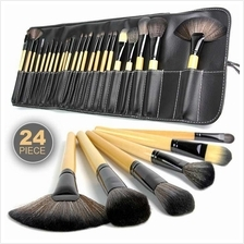 [Shocking Promo] 24-Piece Makeup Brush Set with Cosmetic Bag