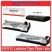 6-in-1 A4/A3 SOONYE Laminator Paper Photo Cutter Trimmer Corner Rounde