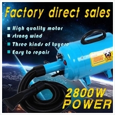 2800W 3.7HP High Velocity Portable Dog Cat Pet Dryer Grooming Blaster