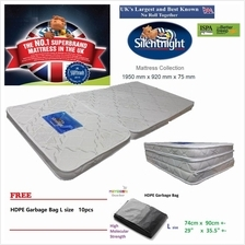 Free Delivery Promotion Silentnight Premium Foldable Sleeping Mattress
