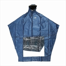 Super Water Resistant Thick Denim Electric Motorbike Raincoat
