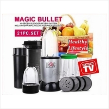 Magic Bullet Deluxe 21 pc Set Blender Mixer High Speed Magic Bullet 21