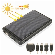 2600mAh Mobile Phone Emergency Power Station with Solar Charger & LED
