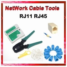 RJ45 RJ11 CAT5 Network LAN Cable Tester Tools Connector Converter