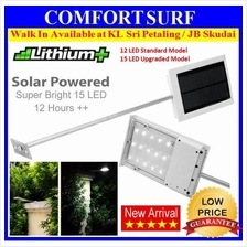 CREE 64X Solar Light Outdoor 15 LED Wall Signage Street Lamp Auto On