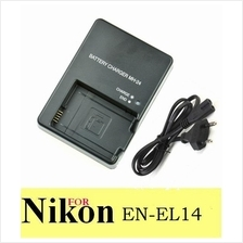 MH-24 MH24 Battery Charger for Nikon EN-EL14 D5300 D3100 D3200 D5100 P
