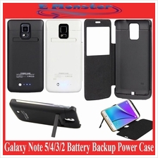 Samsung Galaxy Note 5 4 3 2 N7100 N9100 N9208 Battery Power Bank Case