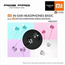Ori XIAOMI Mi In-Ear Headphones Piston Basic (Fresh Edition) Earphone