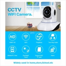 WiFi Motion Sensor IP Camera Wit 433mhz Loud Panic Sirens Alarm System