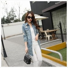 Stylish Jean Slim Fit Jacket Women Jackt