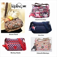 Kipling Cross Body Travel Bag Sling Bag Handbag Waterproof Nylon