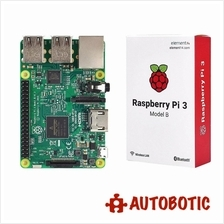 Raspberry Pi 3 + Casing with Fan + HDMI Cable + Heat Sinks