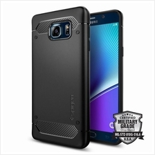 Samsung Galaxy Note 5 Case Cover Casing SPIGEN Rugged Armor