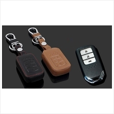 Honda City & Accord 2014-16 Smart Entry Remote Leather Key Cover Case