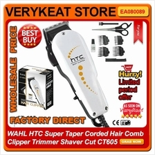 WAHL/HTC Super Taper Corded Hair Comb Clipper Trimmer Shaver Cut CT605