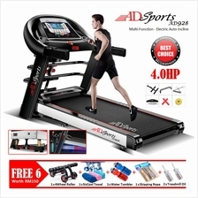 "GYM AD818 Treadmill 7"" LCD Display / Electric INCLINE / Self Refuel"