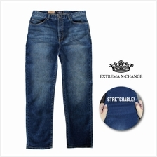 EXTREMA Enzyme Wash Stretchable Blue Jeans EXJ6030