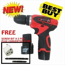 Balux Cordless Lithium 12V Battery Drill Driver Machine with Multi Adaptor