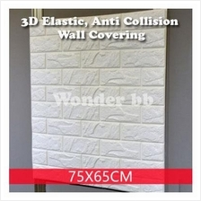 3D Anti-Collision PE-Foam Brick-Like Wall Covering/Paper (5pcs)