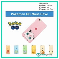 [CLEARANCE] Pokemon GO iPhone 6 6s Plus Cute Hard Back Case Cover / Hard Case
